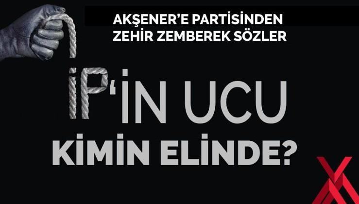 İyi Parti kurucularından Akşener'e büyük isyan!
