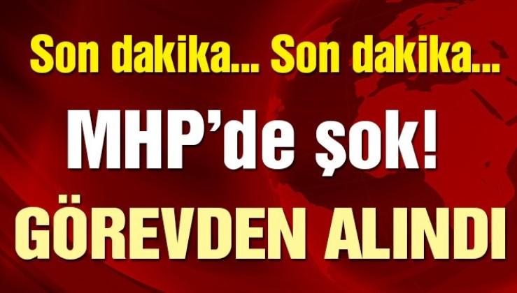 MHP'de şok! Erhan Usta görevden alındı!