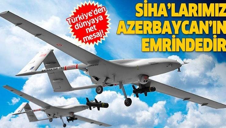 Savunma Sanayii Başkanı İsmail Demir: SİHA'larımız füzelerimiz, harp sistemlerimiz Azerbaycan'ın emrindedir