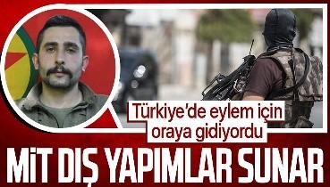 SON DAKİKA: Türkiye'de eylem hazırlığı için toplantıya katılacak olan PKK'lı Hüseyin İnal'ı MİT etkisiz hale getirdi