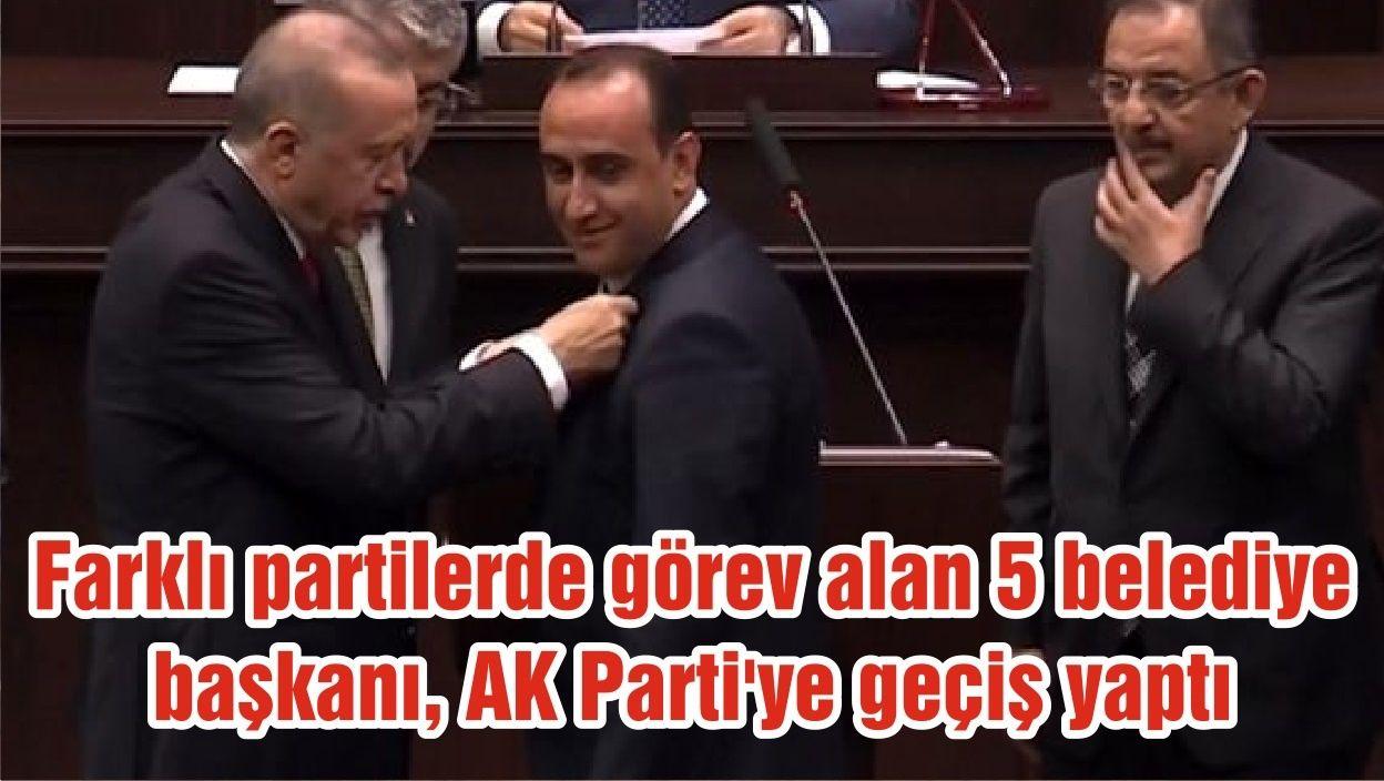 CHP ve İYİ Partili başkanlar AKP'ye geçti!