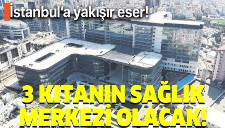 Kartal Dr. Lütfi Kırdar Şehir Hastanesi açıldı! Türkiye 3 kıtanın sağlık merkezi olacak!