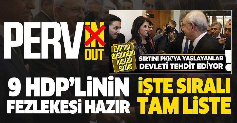 SON DAKİKA: Kobani soruşturması kapsamında 9 HDP'li vekil hakkında fezleke hazırlandı
