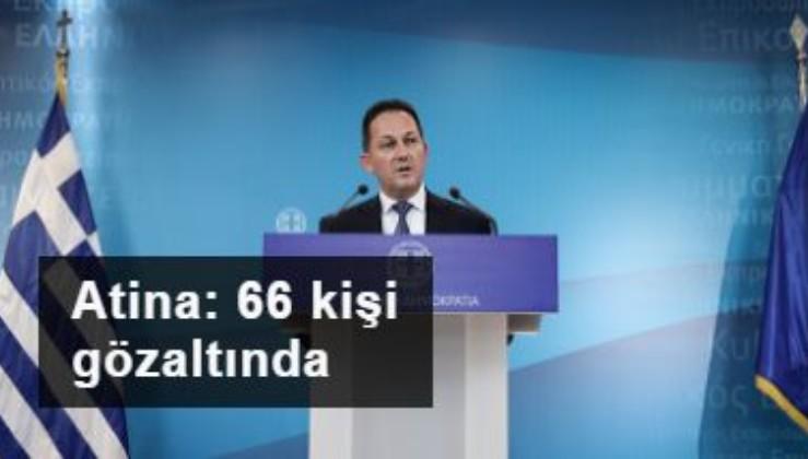Atina: Yunanistan topraklarına yönelik 4 binden fazla yasadışı giriş engellendi, 66 kişi gözaltında