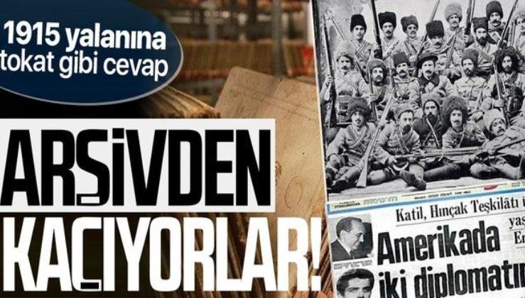 Ermenilerin 1915 yalanına tokat gibi cevap: Arşivleri açalım diyoruz kaçıyorlar