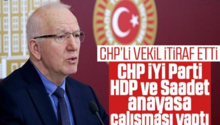 GÖRÜNTÜLER ÇIKTI: Kılıçdaroğlu ve Akşener'in yalanladığı anayasa çalışmasını İbrahim Kaboğlu itiraf etti