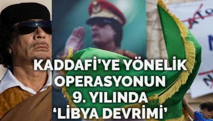 Muammer Kaddafi'ye yönelik Batı operasyonunun 9. yıl dönümü