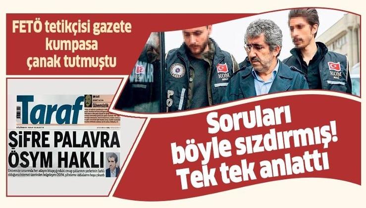 ÖSYM eski Başkanı Ali Demir'in soruları nasıl sızdırdığı ortaya çıktı! Şifreyi bilmeden....