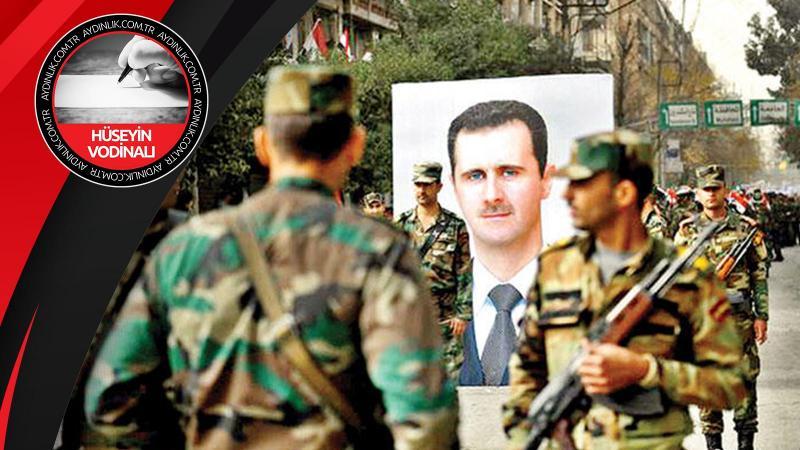 Tek yol Esad