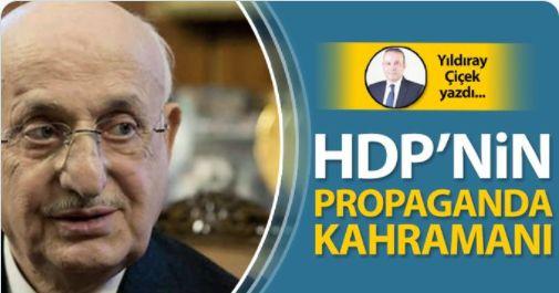 HDP'nin propaganda kahramanı
