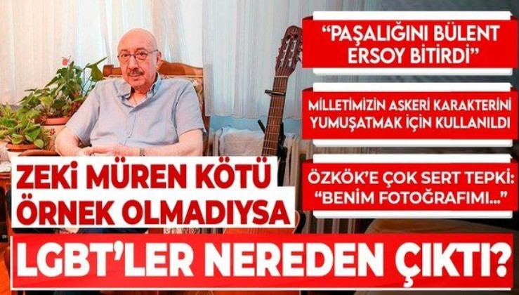 Özdemir Erdoğan: Zeki Müren kötü örnek olmadıysa LGBT'ler nereden çıktı?