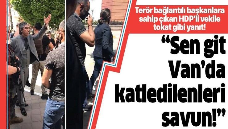 Iğdır Emniyet Müdürü Göllüce'den HDP'li vekile tokat gibi yanıt: