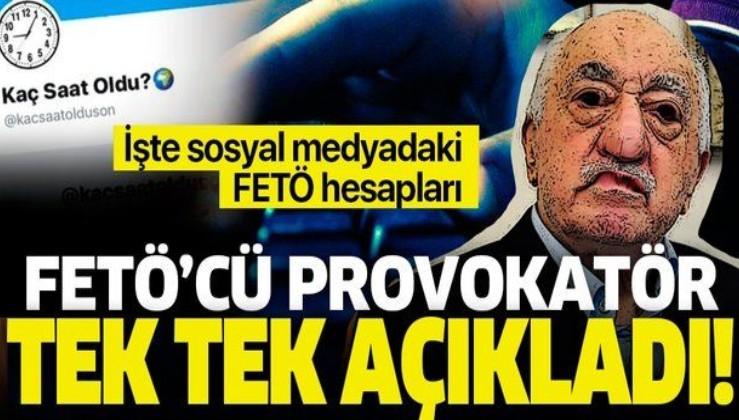 'Kaç Saat Oldu' hesabını yöneten Hüseyin Yılmaz FETÖ'nün sosyal medyada kullandığı hesapları açıkladı
