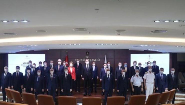 Son dakika: İçişleri Bakanı Soylu, ilk kez atanan valilerle toplantı yaptı