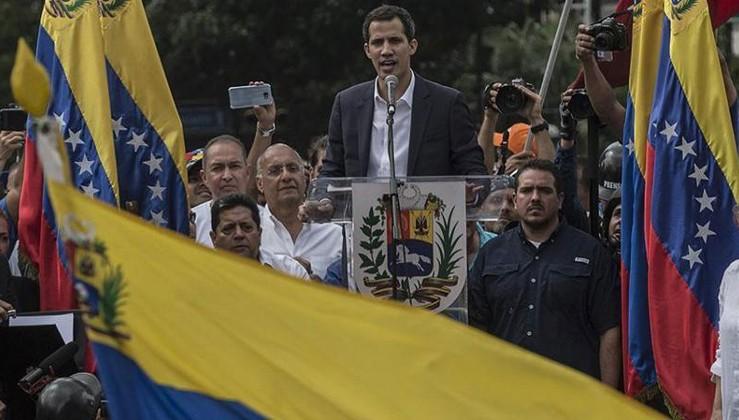 ABD Guaido'ya önceden destek sözü vermiş