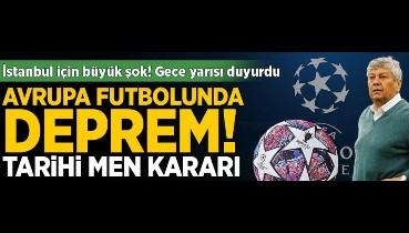 Avrupa Süper Ligi depremi! Gece yarısı men kararını duyurdular, İstanbul için yıkan haber