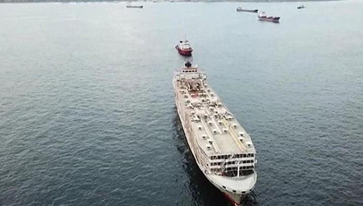 Çeşme'de demirleyen şarbonlu hayvan yüklü gemi için Bakanlıktan açıklama