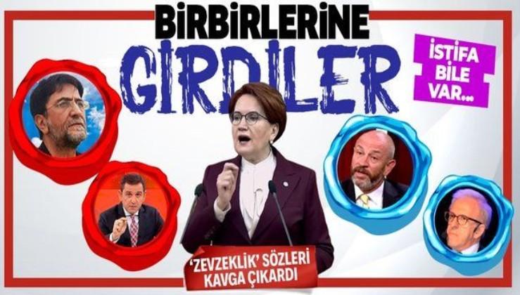 Meral Akşener'in 'zevzeklik' açıklaması sonrası birbirlerine girdiler! Nihat Genç, Fatih Portakal, Ali Türkşen...