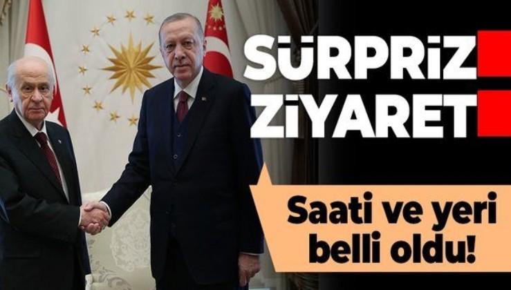 SON DAKİKA: Cumhurbaşkanı Erdoğan MHP lideri Bahçeli ile görüşecek