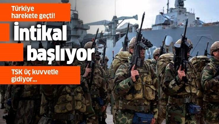 Türkiye'den tarihi adım! TSK üç kuvvetle Libya'ya gidiyor.