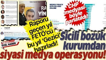Sicili bozuk Reuters ve Oxford'dan Türkiye'ye siyasi medya operasyonu!