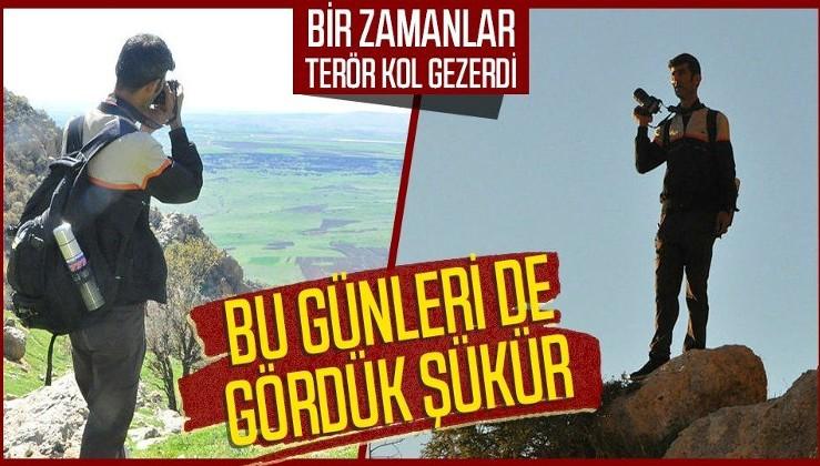 Teröristlerden temizlenen Gabar ve Cudi Dağı fotoğrafçıların gözde mekanı oldu