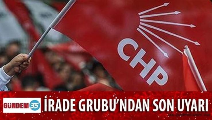 CHP'de Kurultay öncesi İrade Grubu'ndan son uyarı