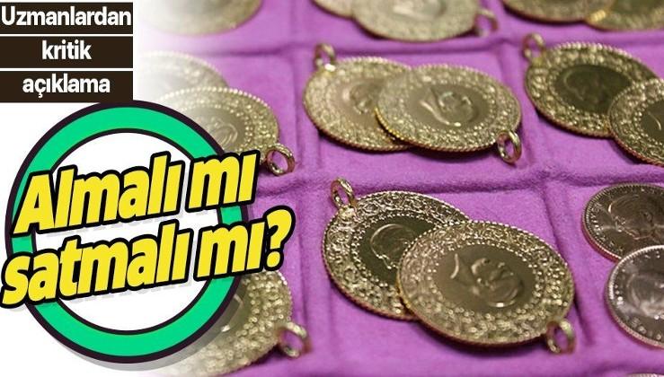Son dakika: Altın fiyatları yükseldi! Altın almalı mı satmalı mı? Uzman isimden açıklama!