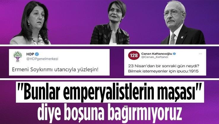 HDPKK'dan emperyalist yalana destek!