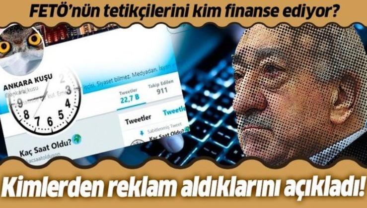 'Kaç Saat Oldu' hesabını yöneten Hüseyin Yılmaz kendisi ve 'Ankara Kuşu'nun kimlerden reklam aldığını açıkladı