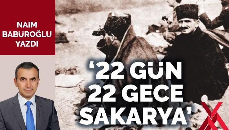 '22 gün 22 gece Sakarya'