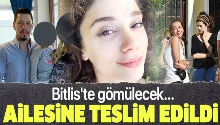 Evli ve bir çocuk babası Cemal Metin Avcı tarafından canice katledilen Pınar Gültekin'in cenazesi ailesine teslim edildi