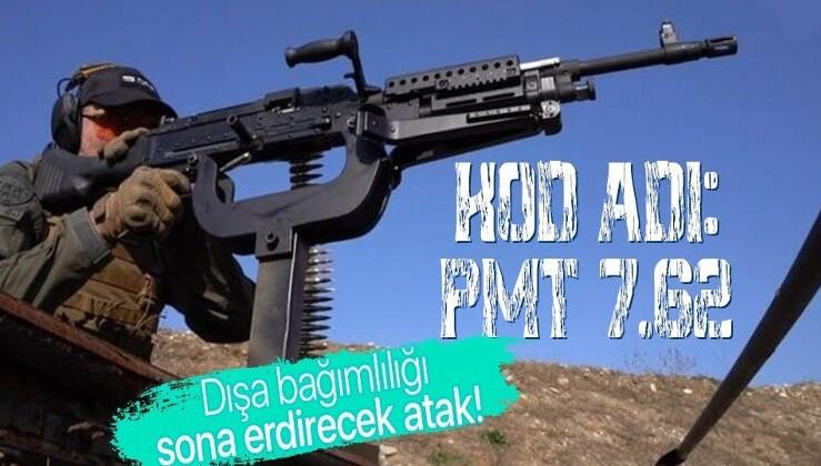 Son dakika: Kod adı: PMT 7.62! Savunma Sanayii Başkanı İsmail Demir 'dışa bağımlılık bitiyor' diyerek duyurdu