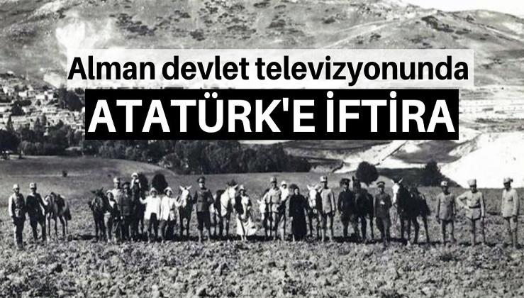 Devlet televizyonunda Atatürk'e iftira