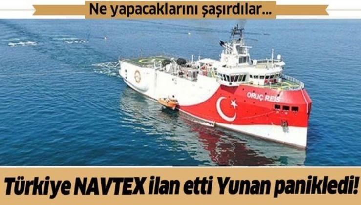 Türkiye NAVTEX ilan etti Yunanistan'ı korku sardı! Genelkurmay Başkanı Floros acil olarak ülkesine döndü!