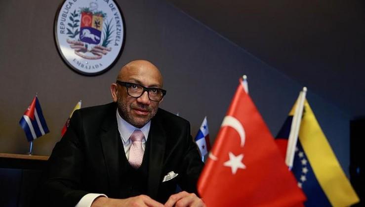 Venezuela'nın Ankara Büyükelçisi Reyes: Olaylar yeni bir darbe teşebbüsünün tezahürü