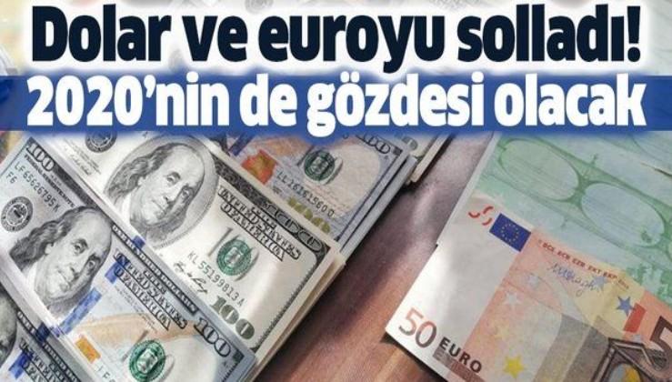 Dolar ve euroyu solladı.
