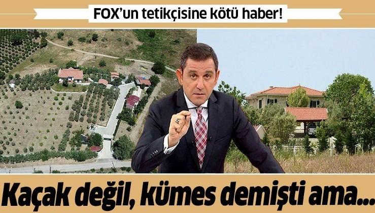 Fatih Portakal'a kötü haber! Kaçak yapı yıkılacak