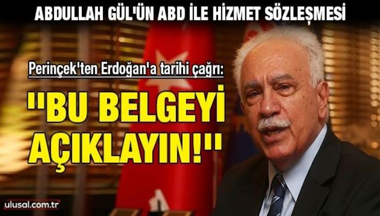 Perinçek'ten Erdoğan'a tarihi çağrı: ''Bu belgeyi açıklayın!''