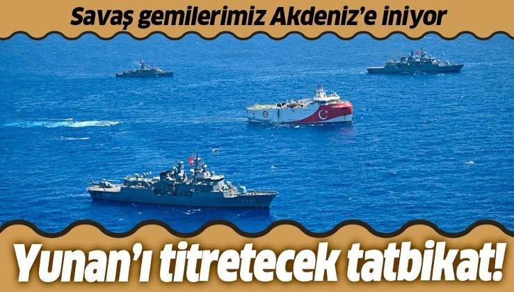 Son dakika: Yunanistan'ın NAVTEX ilanına yanıt! Türkiye Girit'in güneyinde savaş gemileriyle tatbikat yapacak