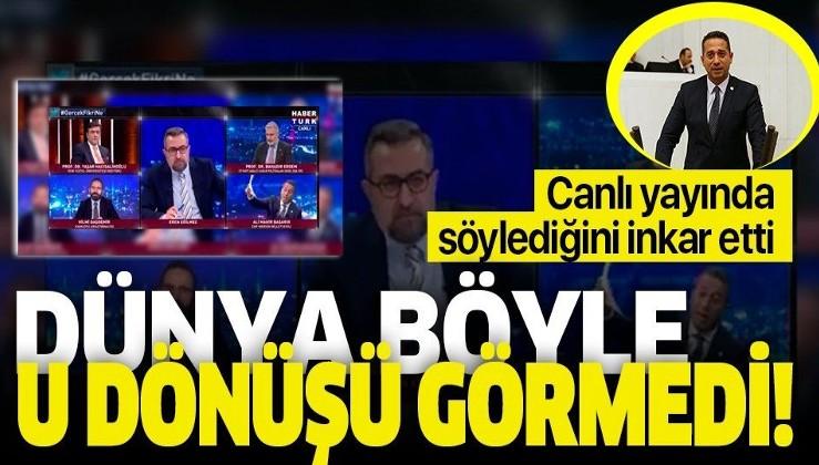 Türk ordusu hakkında küstah açıklamalarda bulunan CHP'li Ali Mahir Başarır sözlerini inkar etti