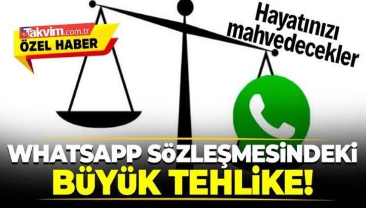 Uzmanlar WhatsApp gizlilik sözleşmesindeki büyük tehlikeyi açıkladı: Ses kayıtları...
