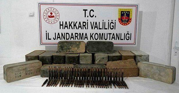 """""""Yıldırım-2 Cilo Operasyonu""""nda uçaksavar mühimmat ele geçirildi"""