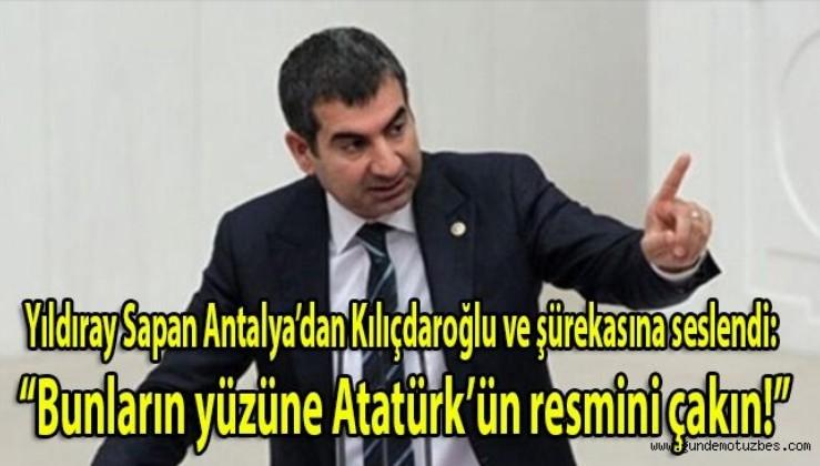 """CHP'li eski vekil Yıldıray Sapan Kılıçdaroğlu'nun bugün Anıtkabir'e gitmemesinin adını koydu: """"Kılıçdaroğlu ve şürekâsının Dersim nedeniyle Atatürk'le hesabı var!"""""""