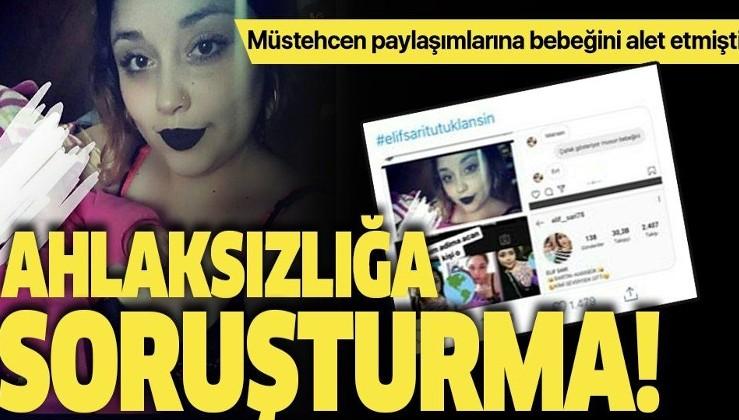 Sosyal medyada ahlaksız paylaşımlar yapan kadın hakkında soruşturma başlatıldı