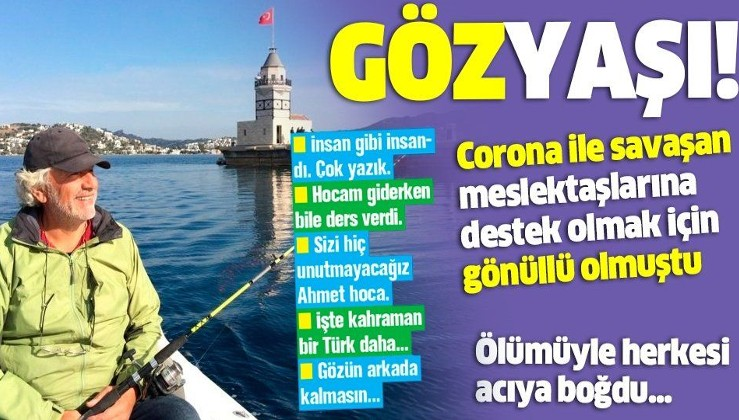 Corona nedeniyle hayatını kaybeden Dr. Çitoğlu, hastalanmadan önce salgınla mücadele için CİMER'e başvurmuş