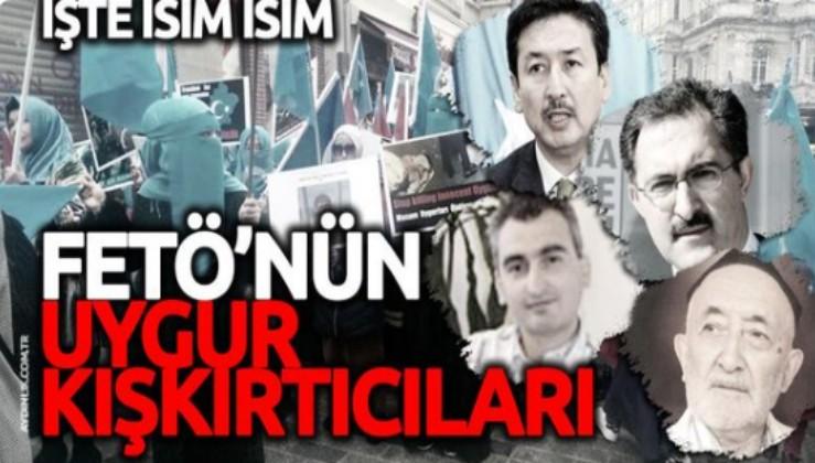 Türk Çin dostluğuna FETÖ'cülerden Uygur kışkırtması