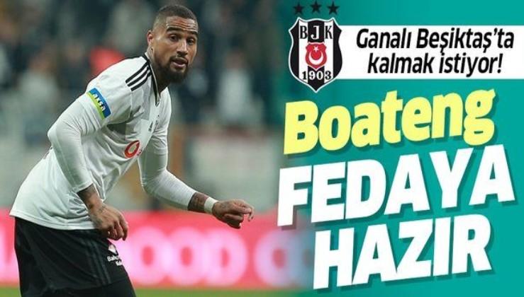 Ganalı Beşiktaş'ta kalmak istiyor! Boateng fedaya hazır