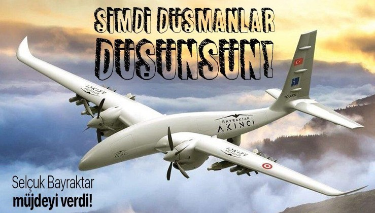 BAYKAR Savunma Teknik Müdürü Selçuk Bayraktar'dan flaş AKINCI TİHA açıklaması! Hava savunması da yapabilecek!