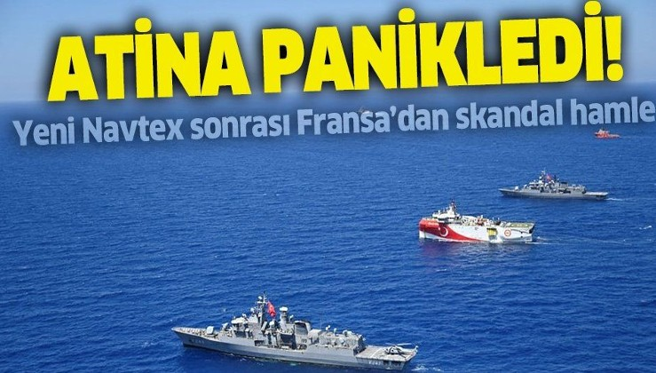 Türkiye'nin Oruç Reis için ilan ettiği yeni NAVTEX Atina'yı panikletti